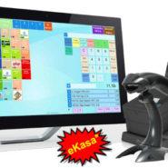 ELCOM Bravo dotykový POS systém + Efox T Elcom RP80 LAN tlačiareň + CD-840 K peňažná zásuvka