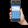 FiskalPRO A8 eKasa s aplikaciou Posmobil v ruke