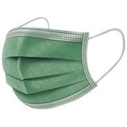 A.L.K.A. Ochranné rúška -ZELENÉ jednorazové 3-vrstvové vysokej kvality z netkanej textílie - 50 kusov