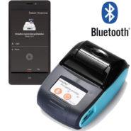 Goojprt PT-210 - termálna minitlačiareň pre tlač pokladničných dokladov z VRP svetlomodrá